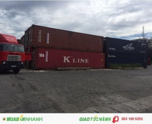 Container Kho 20-40 feet dùng để chứa hàng