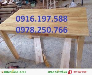 Bàn ghế gỗ quận 2, bàn ăn gỗ quận 3, bàn gỗ ghép cau su quận 4, bàn ăn gia đình quận 1