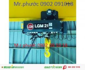 Palang điện cáp LGM - Hàn Quốc, Palang điện cáp LGM dầm đơn, Palang điện cáp LGM dầm đôi, Palang điện cáp LGM giá tốt, Palang điện cáp LGM nhập khẩu, Palang điện cáp LGM nhập khẩu giá tốt.