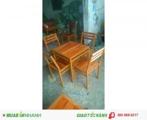 Cần thanh lý 20 bộ ghế gỗ giá rẻ nhất