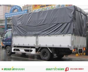 Bán xe tải Hyundai HD65 2. 5T thùng mui bạt, mua xe Hyundai giá rẻ