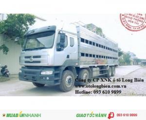 Xe chở gia súc, xe chở lợn 7-10 tấn, 3 chân, 4 chân Howo, Dongfeng, Chenglong 2016