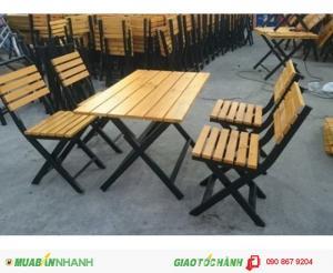 Cần thanh lý gấp 20 bộ bàn ghế cafe giá rẻ nhất
