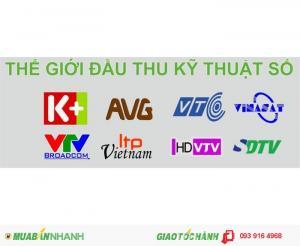 Lắp đặt đầu thu kỹ thuật số mặt đất DVB T2 cần thơ