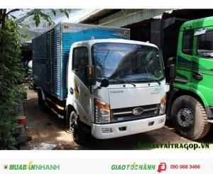Xe tải dưới 2.5 tấn vào được thành phố, xe tải veam 2 tấn vt200 thùng dài