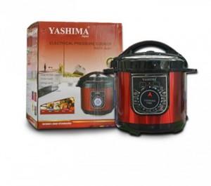 Nồi áp suất đa năng Yashima KL-788 chất liệu hợp kim nhôm bền đẹp, dễ vệ sinh.