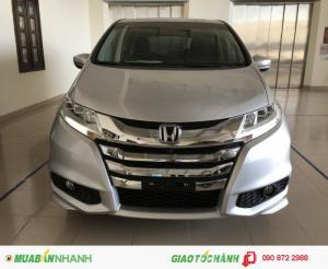 Honda Odyssey 2016 màu bạc, xe nhập Nhật...