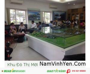 Khu đô thị Nam Vĩnh Yên tự hào là khu đô thị trung tâm của tỉnh Vĩnh Phúc