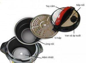 Đa dạng chức năng nấu: giữ ấm, hầm xương, nấu canh, nấu cháo, nấu cơm…