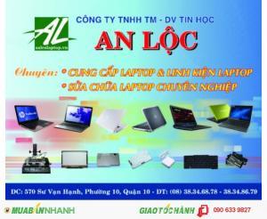 Anloc: mua bán, sửa chữa laptop chuyên nghiệp giá tốt