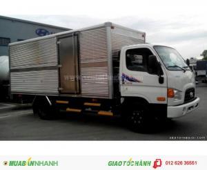 Bán xe tải Hyundai HD78 4.5t thùng kín, mua xe Hyundai giá rẻ