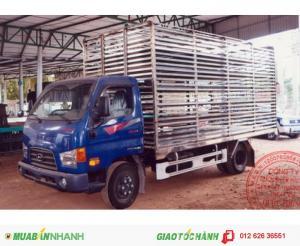 Đại lý độc quyền xe tải Hyundai HD78, hỗ trợ trả góp lãi suất thấp