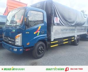 Mới về thêm 20 xe tải veam vt260, thùng dài 6m2, máy huyndai,chạy được tp ban ngày