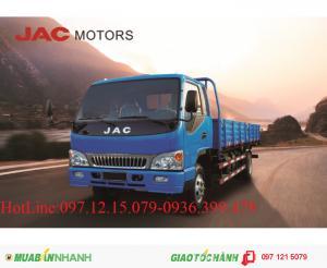 Xe JAC 6.4 - 7.25 tấn thùng lửng
