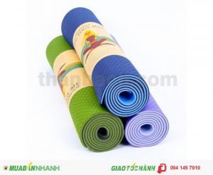 Thảm Yoga có túi đựng 0.6x171x61  250,000đ
