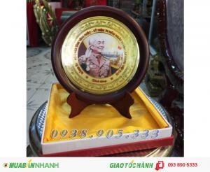Đĩa quà tặng in hình đại tướng võ nguyên giáp đk 18cm