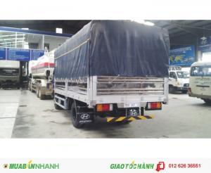 Xe tải Hyundai HD 85 - 4, 8 tấn - thùng dài 5m, nhập khẩu 610 tr