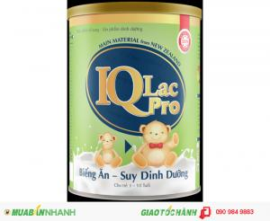 IQ biếng ăn, suy dinh dưỡng giúp bé ăn uống ngon miệng hơn, tăng cân nhanh nhất.
