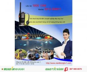 Chuyên cho thuê máy bộ đàm tại TP Hồ Chí Minh
