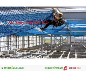 Lưới an toàn hàn quốc màu xanh dương và xanh lá