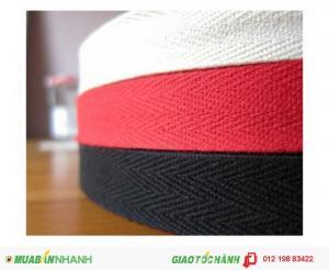 Chuyên sản xuất dây đai dệt, dây thun dệt cao cấp