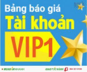 Đón tháng 9! Chỉ với 1 triệu 8 đã có ngay tài khoản VIP1 của muabannhanh