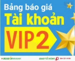 Giảm ngay 50% khi mua VIP 2 với thời hạn 12 tháng.