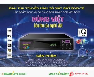 Đầu thu Kỹ thuật số DVB-T2 Hùng Việt chính hãng