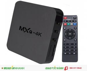 Android Box Tivi MXQ 4K chính hãng