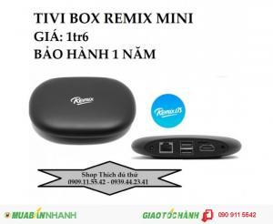 Android Box Tivi REMIX MINI 4K chính hãng