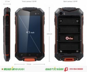 Smartphone landrover xp7700 pin khủng 10000mah