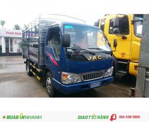 Mua xe tải JAC 2t45 nhận ngày ưu đãi 100% phí trước bạ và phiếu mua dầu lên đến 1000l