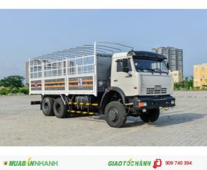 Xe tải thùng KAMAZ 3 chân