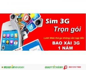 270.000Đ - Sim 3G Mobifone F500 ưu đãi 48GB trong 12 tháng