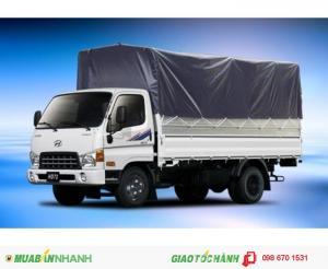 Xe tải hyundai hd65 2t5, siêu khuyến mãi