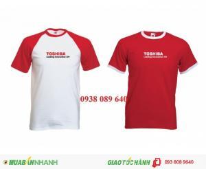 Đồng phục áo thun doanh nghiệp thiết kế theo yêu cầu rẻ đẹp