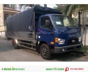 Thông tin Bán xe tải Hyundai HD98S 6.5 tấn thùng mui bạt 2016