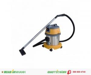 Máy hút bụi – nước Công Nghiệp CAMRY Model: HC 15 (01 motor)  -          Điện áp: 220 V – 50Hz -          Công suất: 1200 – Max 1400 W -          Dung tích thùng chứa: 15L -          Tank: Inox -          Lưu lượng khí: 90L/S -          Độ ồn:  65dB -          Cân nặng: 8 Kg -          Dây điện: 07 m -          Chức năng: hút khô / hút nước và các bụi bẩn công nghiệp Motor: Ametek – USA - Sản xuất theo công nghệ Italy.