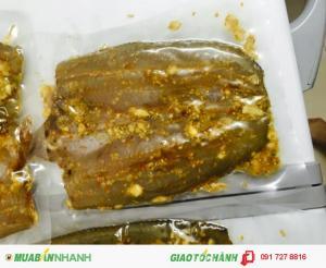 Cá lóc 1 nắng ướp xả ớt