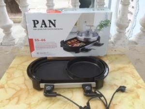 Bếp nướng lẩu 02 mâm nhiệt PAN cực tiện dụng, chất lượng cao - MSN383072