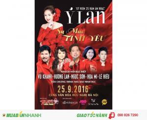 Mua vé Liveshow Ý Lan Sa mạc tình yêu tại Hà Nội