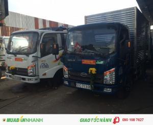 Xe tải  veam 2.4 tấn xe vào thành phố - veam vt252 2T4 thùng dài 4m1 động cơ hyundai