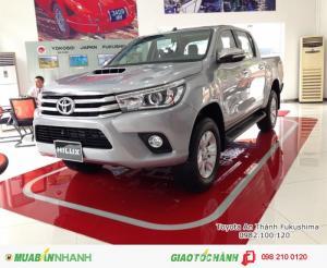 Khuyến Mãi Toyota Bán Tải Hilux 2017 2.8G số tự động 2 cầu nhập khẩu. Xe đủ màu giao ngay. Mua trả góp chỉ 220tr
