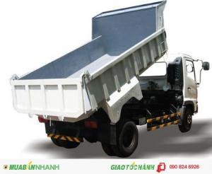 Bán xe Ben HIno 6T4, Giá xe Ben Hino 6T4/ 6.4 tấn nhập khẩu