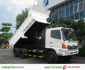 Bán xe Ben Hino 3 chân 14 tấn, 3 chân 15 tấn nhập khẩu