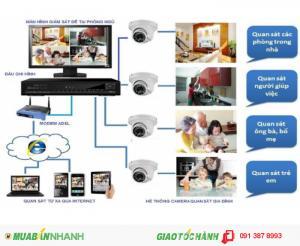 Lắp đặt hệ thống camera ip chính hãng Giá gốc cho gia đình, shop Bình Tân, Bình Chánh, Q6