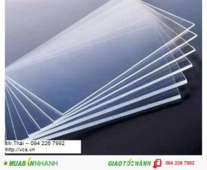 Tấm mica trong suốt