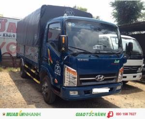 Xe tải veam vt260 - 1 tấn 9 - xe vào thành phố - thùng dài 6m2 động cơ hyundai