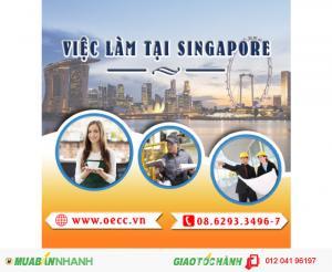 Tuyển dụng nhiều vị trí làm việc tại Singapore