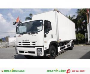 Bán xe tải Isuzu 9 tấn FVR34S thùng dài 8m nhập khẩu